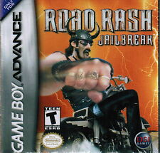New Road Rash: Jailbreak 2003 Nintendo Game Boy Advance Racing Video Game