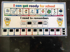 I can get ready for school routine chart pecs starting school organisation chart