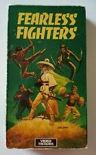 FEARLESS FIGHTERS VHS- Obscure Martial Arts Chinese Rare 1973