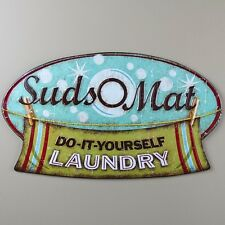 SUDS-O-MAT Laundry Sign