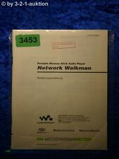Sony Bedienungsanleitung NW MS70D /MS90D /MS77DR Network Walkman (#3453)
