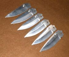 """Lot of 6 Closeout Schrade Folding Knife Blade w/ Thumb S463 Stud. 4"""" Overall USA"""