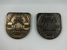 1995 Indianapolis 500 Bronze & Silver Pit Badge Corvette Villenueve Team Green