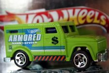2014 Hot Wheels Police Pursuit Armored Truck