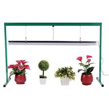 Grow Light Kit Fluorescent Hydroponic 4 Foot Indoor Greenhouse Pot Seed Starter