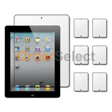 6X New Clear LCD Screen Shield Guard Protector for Tab Tablet Apple iPad 2