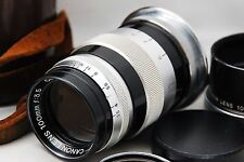 Canon 100mm f3.5 M39 Screw Mount Leica Rangefinder [AS IS condlition] #1201-2
