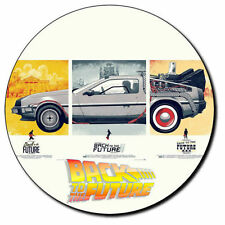 Parche imprimido, Iron on patch /Textil Sticker/ - Back to the Future