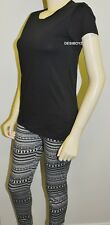 New - GIRLS TEENAGERS SKULL PRINT LEGGINGS WITH T SHIRT - Size: 10