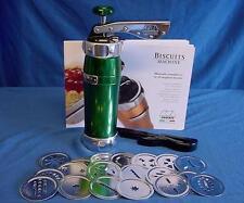 MARCATO biscuit machine vert-qualité Italien Fabriqué biscotti maker 20 formes