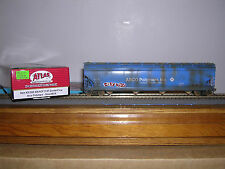 ATLAS #2-006 Arco Palmers ACF 5701 C.F.Hopper Car #574 Weath.w/Grafiti H.O.Gauge