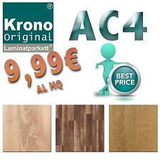 PARQUET LAMINATO AC4 KRONOFIX FAMILY 7mm 3 essenze HDF 9.99mq