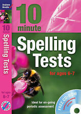 Ten Minute Spelling Tests for Ages 6-7 by Andrew Brodie (Mixed media product,...