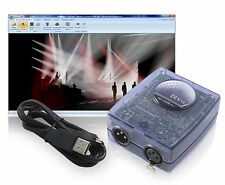 Sunlite SLMEV Magic 3D View Visualizer Only USB DMX Controller & Software 2U