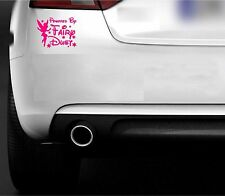 POWERED BY FAIRY DUST CAR 4X4 CAMPER STICKERS
