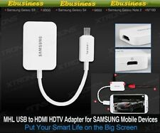 Samsung MHL to HDMI Adapter HDTV TV Lead HD For Galaxy S5 S4 S3 Note 2 3 4