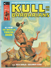 KULL AND THE BARBARIANS #2 9.6 SWORD AND SORCERY COVER WHITE PAGES 11/75