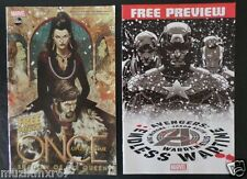 SDCC Comic Con 2013 Marvel ABC Once Upon A Time SHADOW OF THE QUEEN Preview