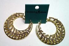 Guess by Marciano Ladie's Hoop Earrings Gold