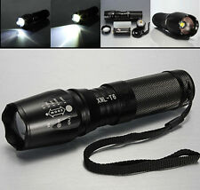 UltraFire 3000LM CREE XML T6 LED Zoomable Zoom Flashlight Torch HM2 26650 18650