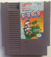 Dig Dug II Trouble In Paradise Nintendo NES Video Game 1985 Cartridge Only