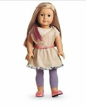 American Girl Isabelle METALLIC DRESS retired tights belt shoes NO DOLL F7333