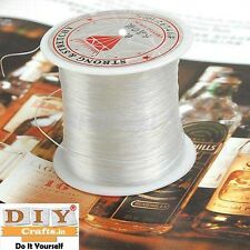 DIY Crafts®76Yards Crystal Nylon Cord String Jewelry Beading Thread Fishing Line
