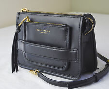 Marc Jacobs Black Leather Madison crossbody