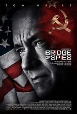 BRIDGE OF SPIES MANIFESTO STEVEN SPIELBERG TOM HANKS RUSSIA GUERRA WAR