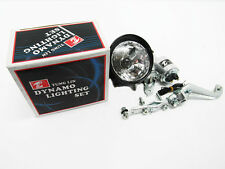 12V 6W Tung Lin Dynamo Lighting Set Bike Head Light Friction Generator Unit New