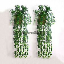1Pcs Botany Ivy Grapes Leaf Garland Plants Vine Foliage Flowers Garden Apartment