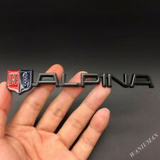 Metal Alpina Emblem Badge Decal Sticker For BMW BM2 M2 M3 X5 E36 B5 Z4 M Power