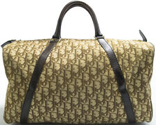 Christian Dior Vintage BOSTON BAG MONOGRAM Borsa SPEEDY KEEPALL Marrone Brown