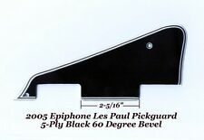 Les Paul LP Blk 5-Ply Pickguard 60 Deg W/HB Pickups for Epiphone Gibson Project