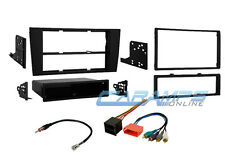 2000-2001 A4 W/ SYMPHONY CAR STEREO RADIO INSTALL DASH TRIM KIT W/ WIRE HARNESS