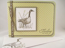 "Stampin Up ""Wetlands"" Handmade Any Occasion Card"