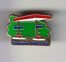 RARE PINS PIN'S .. PETROLE OIL STATION DUCLOS ROUGE ESSO EXXON ~B3