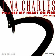 "12"" - Tina Charles - You Set My Heart On Fire (NUEVO - NEW, STOCK STORELISTEN)"