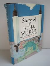 Story of the Bible World In Map, Word and Picture by Nelson Beecher Keyes