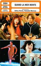 FICHE CINEMA : QUAND LA MER MONTE - Moreau,Willaert 2004 When The Sea Rises
