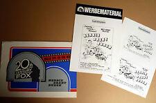 WALT DISNEY * HERBIE DREHT DURCH - Werberatschlag WR Campaign-Book