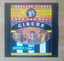 "ROLLING STONES Promotional 12"" x 12"" Card (Flat)   Rock And  Roll Circus"