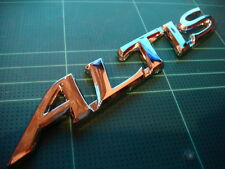 TOYOTA COROLLA ALTIS CHROME 3D BADGE EMBLEM LOGO NEW TRD