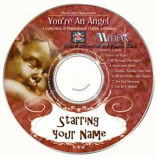 'YOU'RE AN ANGEL'  Personalised Music CD - Starring YOUR CHILD