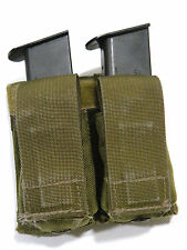 London Bridge LBT-6038A Double Pistol Magazine Pouch Kydex Khaki Navy SEAL NSW