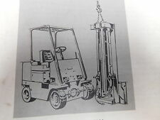 Caterpillar M60-M100 Forklift Parts Service Manual Maintenance Book (E33-2229)
