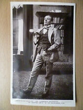 1912 Theatre Postcard: An EnglishMans Home:Lawrence Grossmith (+Stamp)