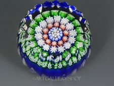 Perthshire MINIATURE MILLEFIORI FLUTED Paperweight Collectors Association PCA