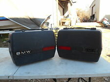 BMW Black Touring Cases for R80G/S, R80ST, R100GS, R100GSPD 496541237992 #1