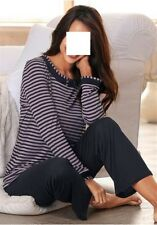 Pyjama, Ringella, Gr.44/46, 100% Viskose, neu